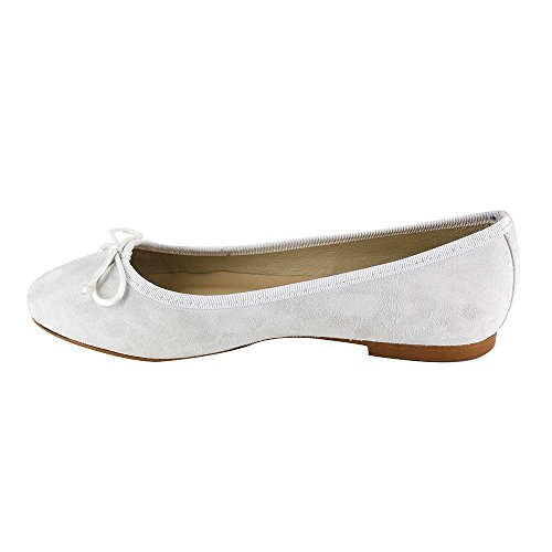 J Ballerina White Miriam JB Leather Bradford White 40r64