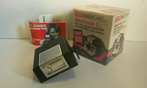 Vintage ITT MAGICFLASH for Polaroid SX-70 OneStep, Pronto & Pronto Sonar Cameras (Sx 70 Sonar)