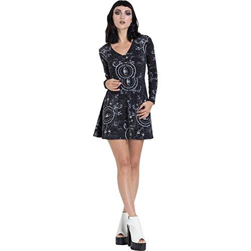 Jawbreaker Nature Ethereal Black Dress Skater Sq7awrS