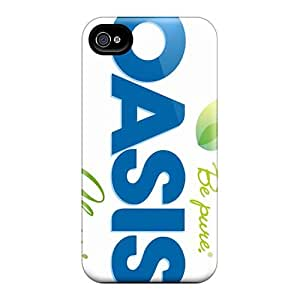 Shockproof Cell-phone Hard Cover For Apple Iphone 4/4s (YPK1463PoJW) Custom Beautiful Oasis Band Pictures