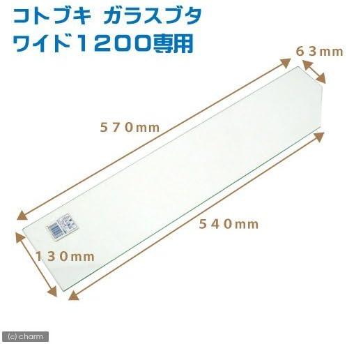 寿工芸 寿工芸 ガラスフタ ワイド1200専用(幅57×奥行13cm、厚さ3mm)