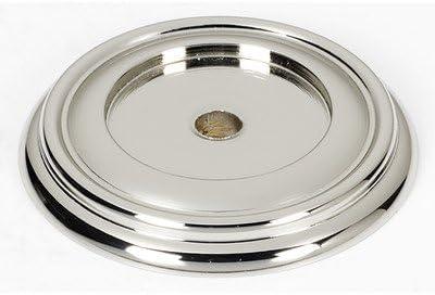 1 5 Back Plate Set Of 2 Finish Polished Nickel