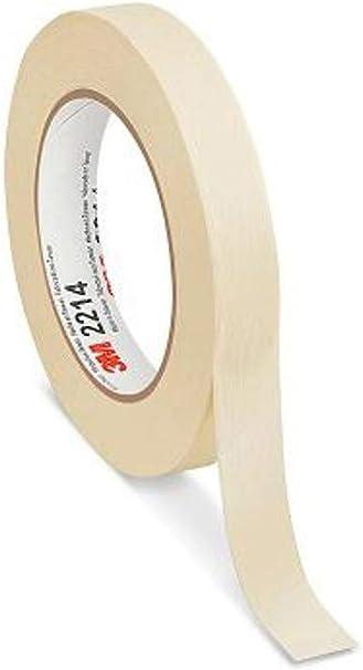 """36 Rolls General Purpose White Masking Tapes 1//2/"""" x 60 Yards"""