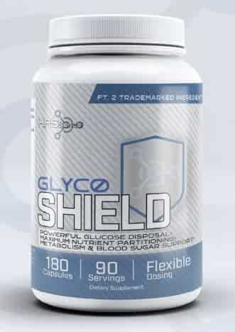 GlycoShield by HPScience 180 Capsules GDA (Glucose Disposal Agent) Maximum Nutrient Partitioning Agent