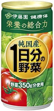 [スポンサー プロダクト]【伊藤園 公式通販】純国産 1日分の野菜 缶190g × 30本入