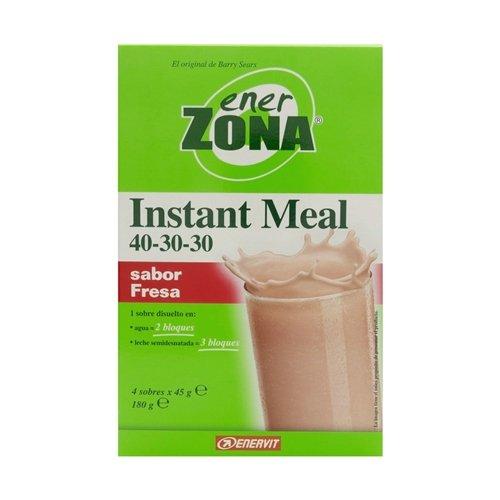 Instant Meal Fresa Enerzona 4X45G