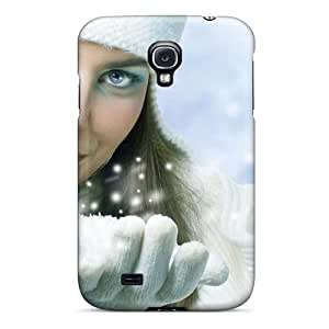 For Galaxy S4 Premium Tpu Case Cover Snow Play Protective Case