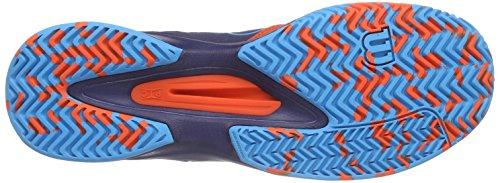 Comp Hombre Wil Navy Blue Scuba Red Tenis Multicolor Tomato de Kaos Zapatillas Wilson para TBqY5qx