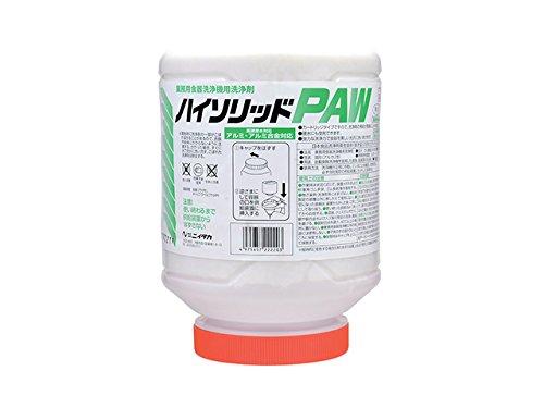 業務用 食器洗浄機用 固形洗浄剤 ニイタカ ハイソリッドPAW 4KX4本 アルカリ性洗剤   B075XLWPGZ