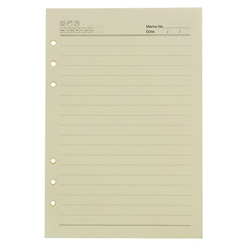 Gracallet Refills Binder Notebook Inch lined
