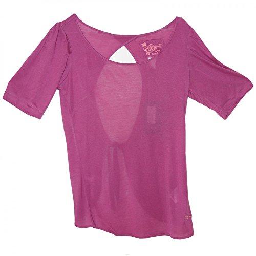 T Viola Reebok shirt Neck Lilla Round Colori Diversi wPRYR4FEq