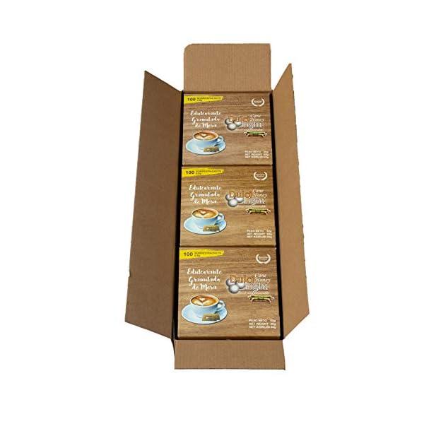 DULCILIGHT CANNA DA ZUCCHERO NATURALE 300 Bustines, DOLCIFICANTE GRANULATO al gusto naturale dello zucchero di canna… 3 spesavip