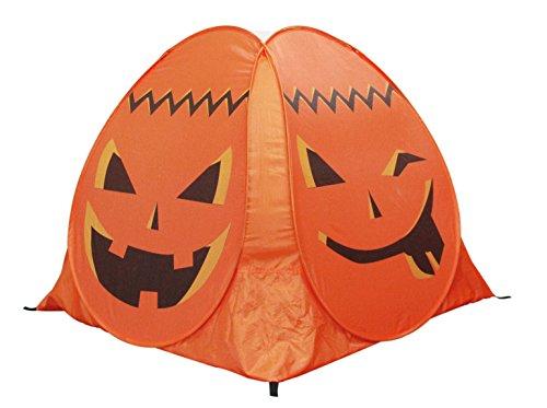 ALPIKA Kids-Tent Pumpkin Pop-Up Playhouse Indoor Outdoor with Carrying Bag for Children Best Gift at Halloween ()