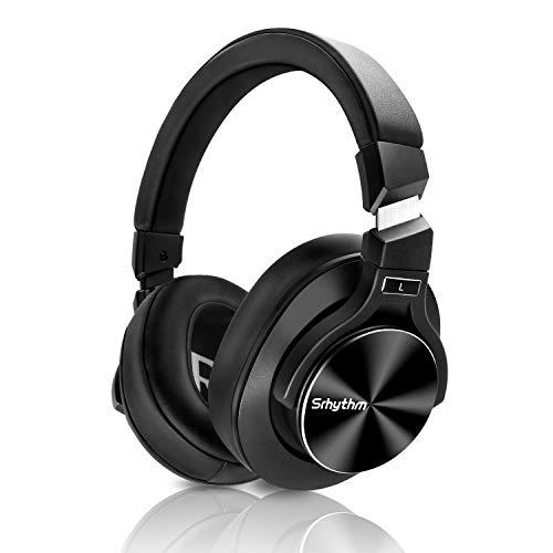 Drahtloser Kopfhörer mit Hybrid Aktiver Geräuschunterdrückung Bluetooth 5.0, Srhythm NC75 Pro Over-Ear mit CVC8.0…