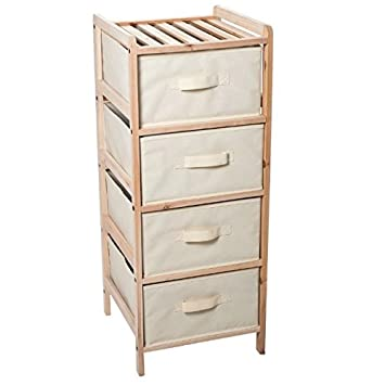 Storage Tower With Drawers