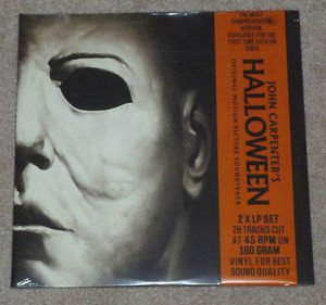 Halloween Mondo Version B Limited Edition Orange Vinyl with Black Splatter
