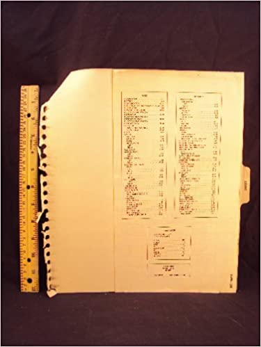 1981 81 ford courier truck electrical wiring diagrams manual ~original: ford  motor company: amazon com: books