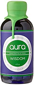 goobsi Wisdom Aura Aromatherapy Mist Spray for Home & Body Made with Pure Essential Oils, 4 fl. oz.