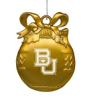 Amazon.com: Baylor University - Pewter Christmas Tree Ornament ...