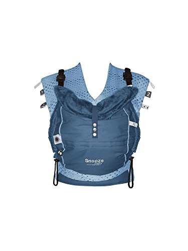 Snoozebaby Kiss and Carry Car Seat Carrier, Indigo Blue