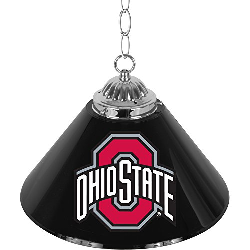 NCAA Ohio State University Single Shade Gameroom Lamp, 14