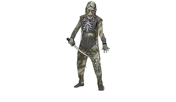 Horror-Shop Disfraz de Ninja del Zombi L: Amazon.es ...