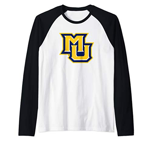 Marquette Golden Eagles NCAA PPMAR02 Raglan Baseball Tee