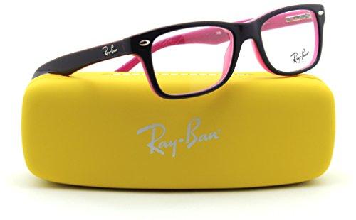Ray-Ban RY1531 JUNIOR Square Prescription Eyeglasses RX - able 3702, - Ray Eyeglasses Ban Purple