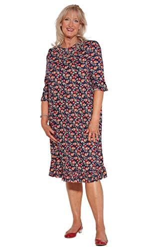 Ovidis Fashionable Dress - Navy   Romei   Adaptive Clothing - M