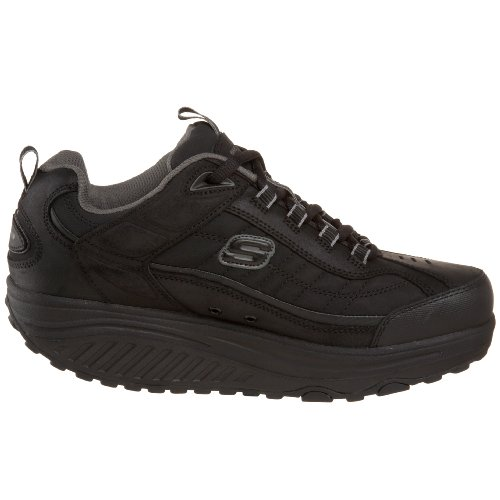 Skechers Sport Herren Form Ups Lace-Up Schwarz
