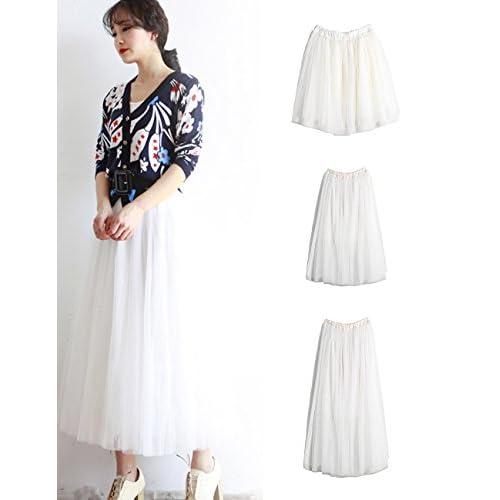 627594d7bc4 hot sale 2017 Queen-Ks Women Tulle Tutu Ballet Pleated Petticoat Elastic  Mini Midi