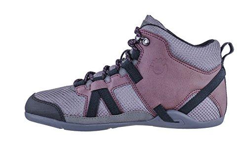 Hiker Inspired Hiking Lightweight Women's Boot Minimalist DayLite Xero Barefoot Black Shoes Burgndy YSEUqw