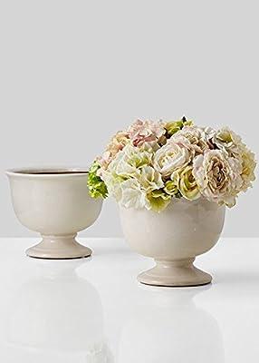 Amazon Com Chive Jojo Small 3 Quot Sphere Round Ceramic Flower Vase Decorative Modern Floral