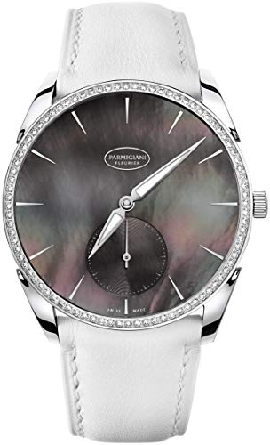 Parmigiani White Gold Diamonds Tonda 1950 Watch