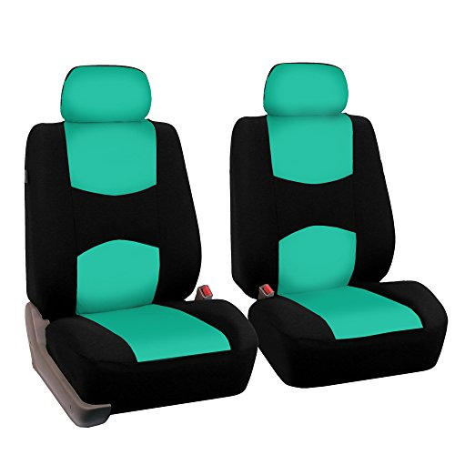 FH Group FB050MINT102 Mint Color Universal Fit Bucket Seat Cover -