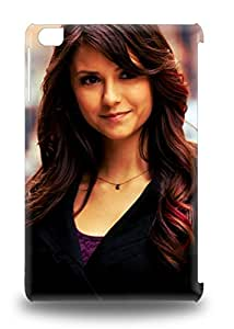 High Grade Flexible Tpu 3D PC Case For Ipad Mini/mini 2 Nina Dobrev Canadian Female The Vampire Diaries ( Custom Picture iPhone 6, iPhone 6 PLUS, iPhone 5, iPhone 5S, iPhone 5C, iPhone 4, iPhone 4S,Galaxy S6,Galaxy S5,Galaxy S4,Galaxy S3,Note 3,iPad Mini-Mini 2,iPad Air )