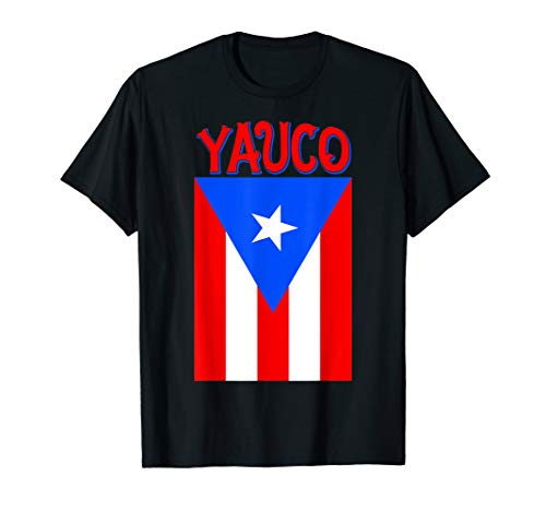 Puerto Rican Yauco Puerto Rico Flag Shirt