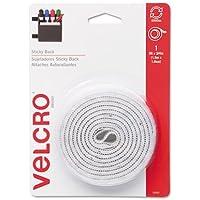 VEK90087 - Velcro Sticky-Back Hook and Loop Fastener Tape with Dispenser