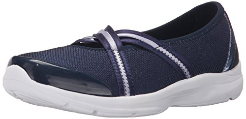 Easy Spirit Womens Quinty Mary Jane Flat Navy Multi