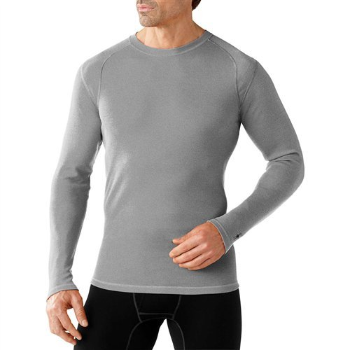 SmartWool Men's NTS Mid 250 Crew Top Black Small by SmartWool (Image #3)