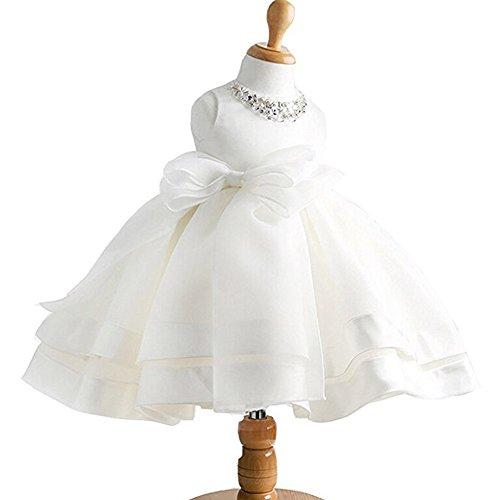 linen baptism dress - 1