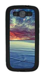 Baltic sea TPU Case Cover for Samsung Galaxy S3 Case and Cover - Black