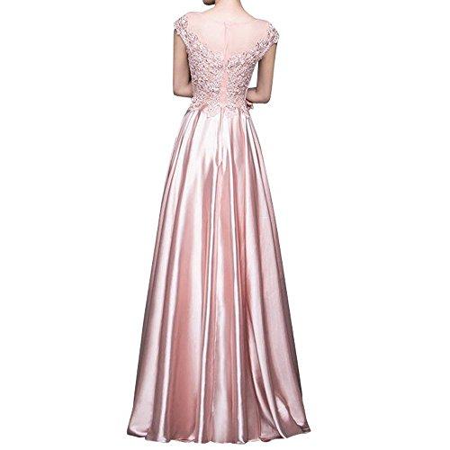 Gruen Spitze Ballkleider A Bodenlang Elegant Braut Langes Festlichkleider Rock Abendkleider Linie La Partykleider mia Minze Brautmutterkleider WwR0ZqP4In
