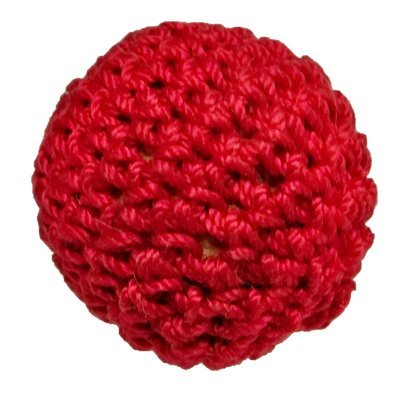 Amazon 1 Crochet Ball Non Magnetic Red By Ickle Pickle