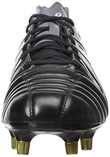 Asics Mens Gel-Lethal Tight 5 Soccer Shoe Black/White/Dark Grey