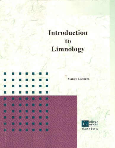 Introduction to Limnology (College Custom Series, University of Wisconsin)