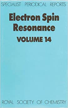 Electron Spin Resonance: Volume 14 (Specialist Periodical Reports)