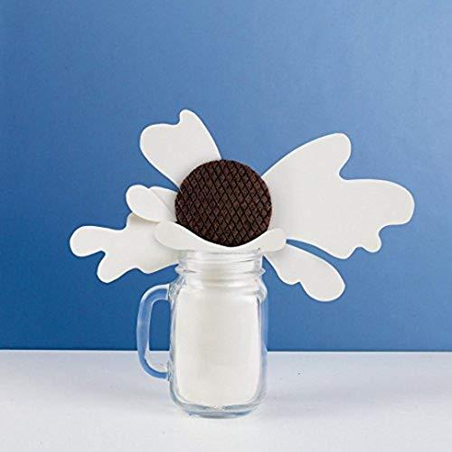 Rip Van Wafels Cookies & Cream Stroopwafels - High Protein Snacks (10g Protein) - Non GMO Snack - Keto Friendly - Office Snacks - Healthy Snacks - Low Sugar (5g) - 12 Pack 6