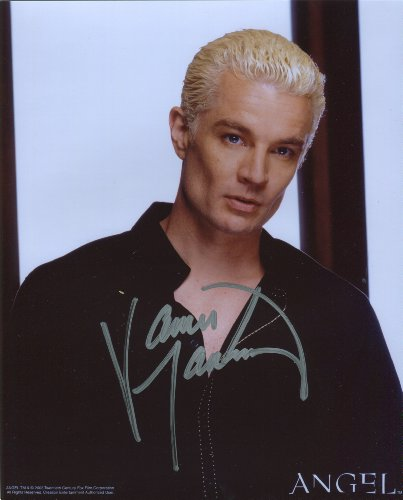 James Marsters Signed / Autographed 8x10 glossy photo portraying Spike from Buffy the Vampire Slayer and Angel. Includes FANEXPO Certificate of Authenticity and Proof. Entertainment Autograph Original. from Star League Sports