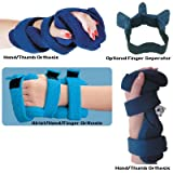 Comfy Wrist/Hand/Finger Orthosis - Hand/Thumb Splint, Adult Small, Navy